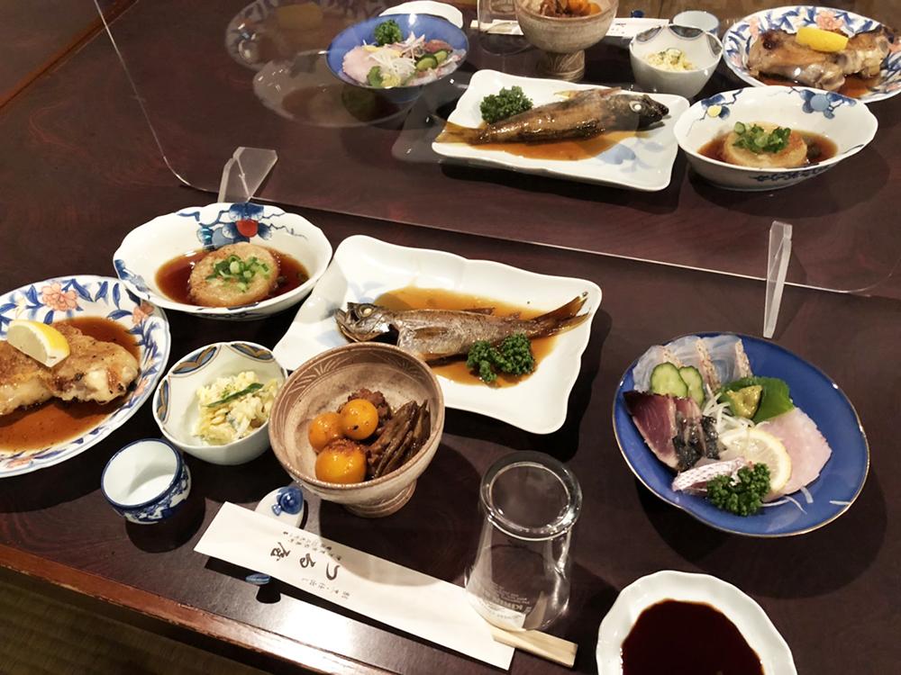 つる屋_料理1